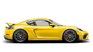 The new 718 Cayman GT4