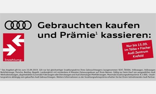 Foto des Serviceangebots Gebrauchten kaufen und Prämie¹ kassieren