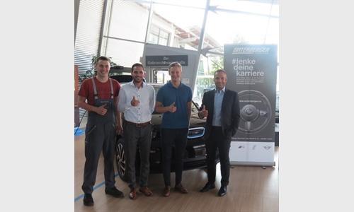 Foto der News Erfolgreiche Ausbildung im Autohaus Unterberger