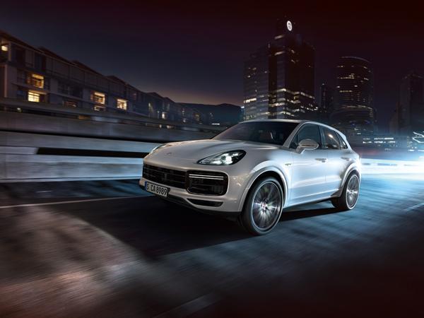 Dynamische Formensprache. Typisch Porsche.