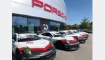 Foto der News Motorsport mit dem Porsche Zentrum Zug