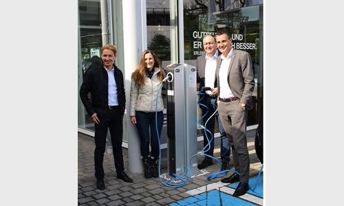 Foto der News Familienunternehmen Unterberger Automobile baut bei Elektromobilität auf nachhaltiges Energiekonzept