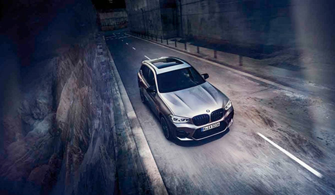 BMW X3 M COMPETITION.