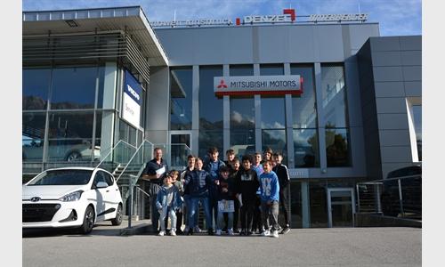 Foto der News Besuch der 3. Klasse NMS Reichenau 16.10.2019