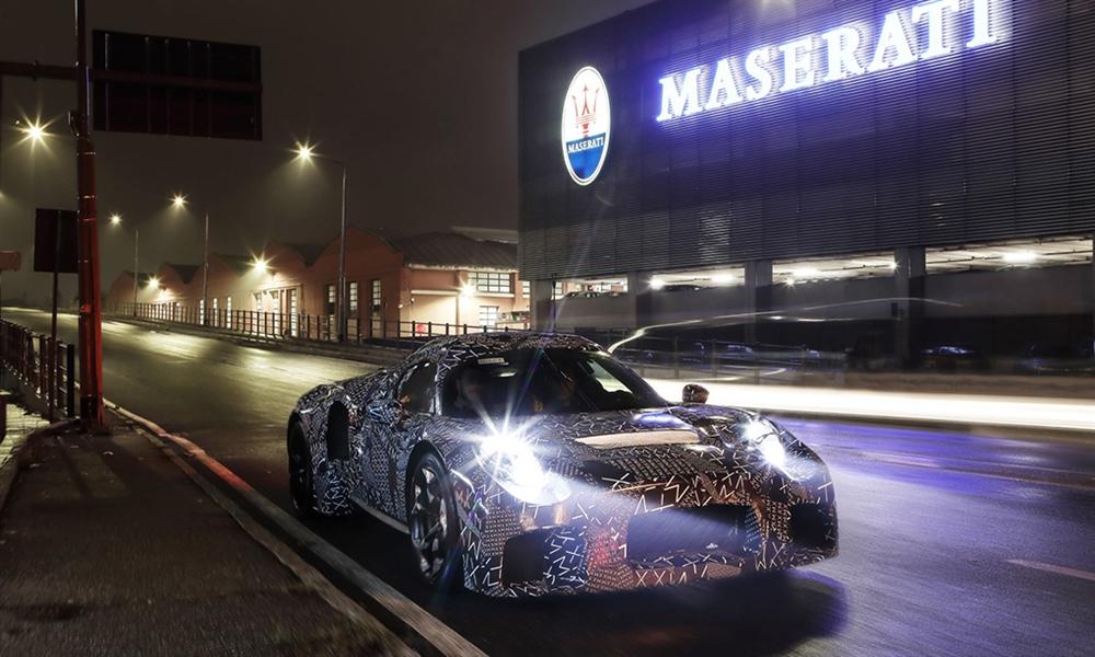 Bild der News Maserati Erlkönig in den Straßen Modenas: Erprobungsfahrzeug mit innovativer Antriebstechnologie
