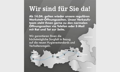 Foto des Serviceangebots Reguläre Werkstatt-Öffnungszeiten!