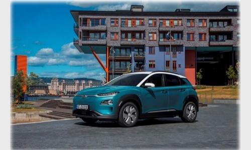 Foto der News Auszeichnung für den Hyundai Kona Elektro bei den TopGear Electric Awards