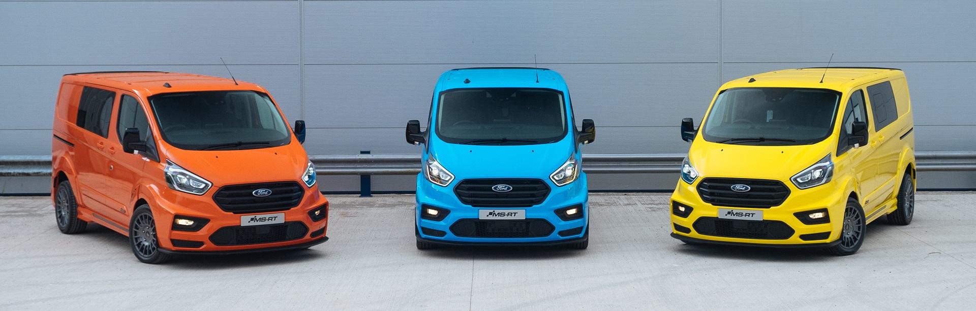 Ford Transit Custom EK Startup