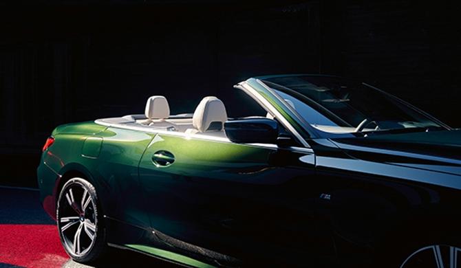 Das Exterieur-Design des BMW 4er Cabrio.