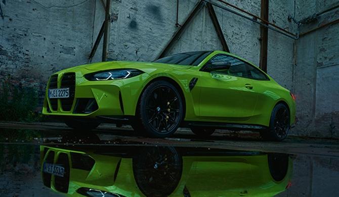 Fahrdynamik- und Designausstattungen des BMW M4 Competition Coupé.