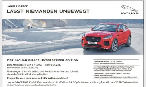 Foto der News Jaguar E-Pace Unterberger Edition