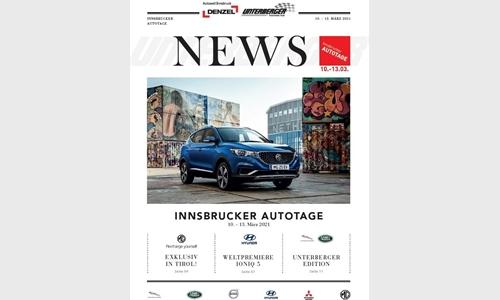 Foto der News Innsbrucker Autotage 10.-13.03.21