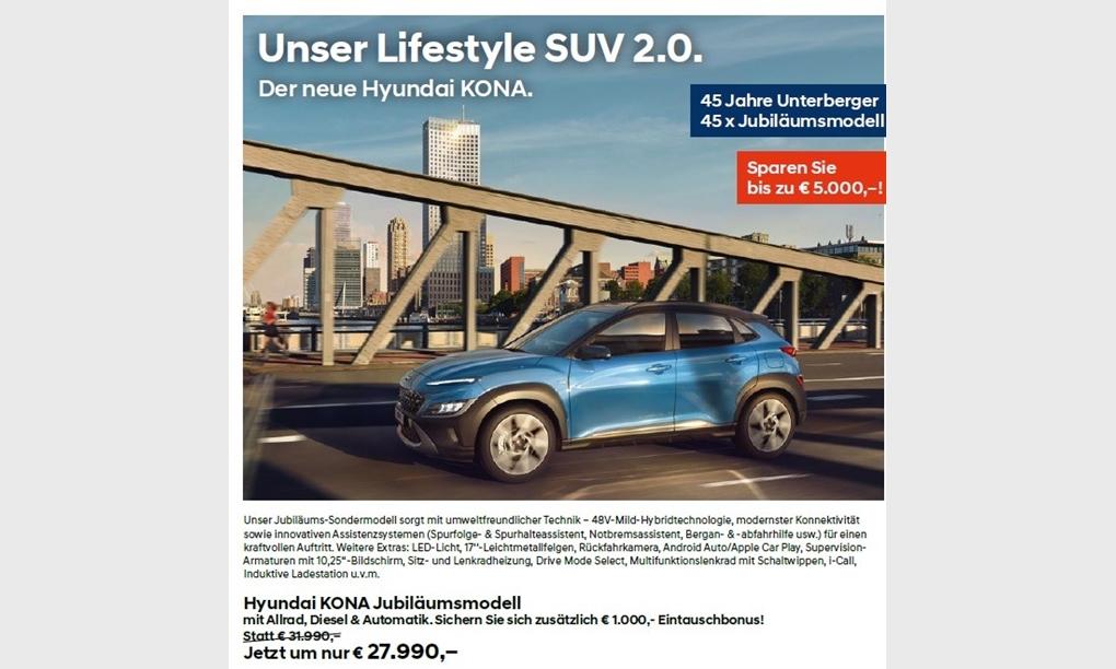 Unser Lifestyle SUV 2.0.