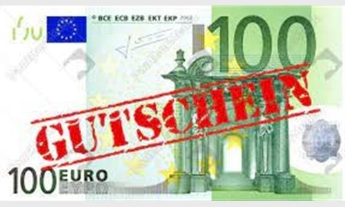 Foto des Serviceangebots 100 € Gutschein