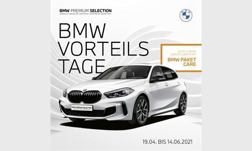 Foto der News BMW Vorteilstage