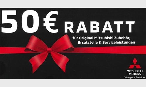 Foto des Serviceangebots 50 € Rabatt