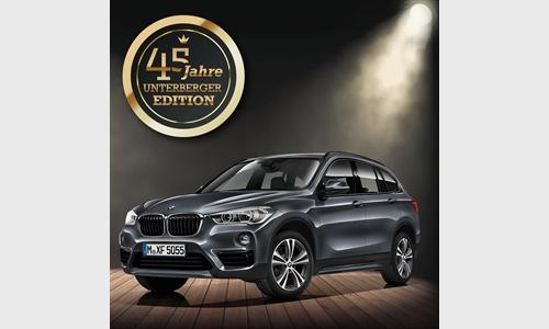 Foto der News 45 JAHRE UNTERBERGER EDITION - Der BMW X1