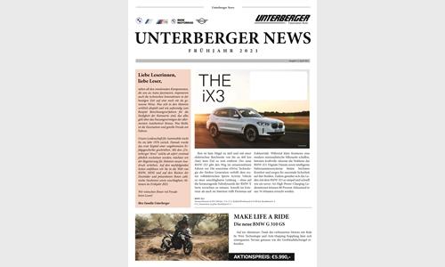 Unterberger News Ausgabe 1