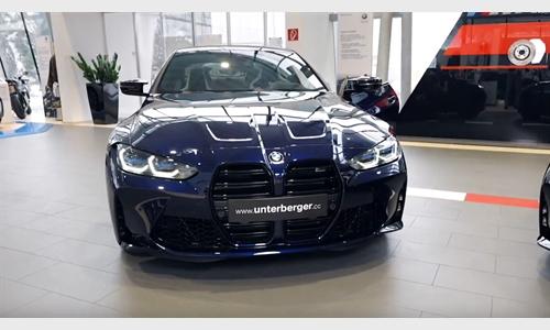Der BMW M3 Competition und BMW M4 Competition bei BMW Unterberger