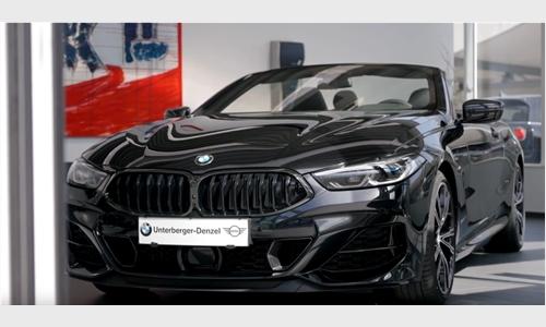 Das BMW 8er Cabrio bei BMW Unterberger