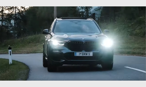 Der BMW X5 Hybrid im Kühtai