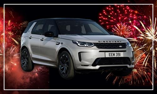 Foto der News Land Rover Discovery Sport 45 Jahre Unterberger Sondermodell