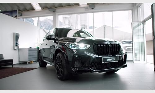 Der BMW X5 M Competition bei BMW Unterberger
