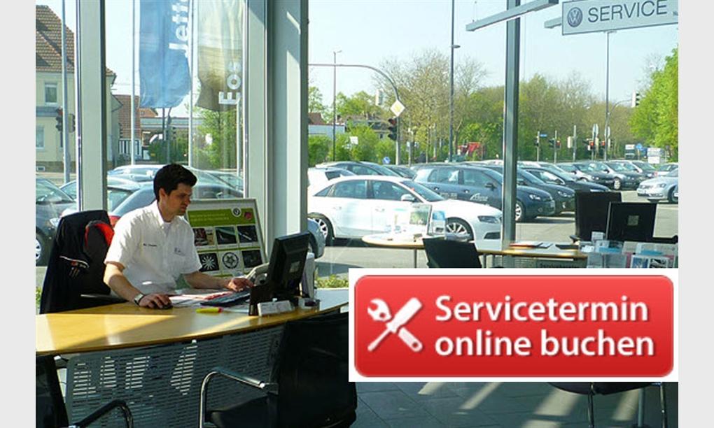 Servicetermine online buchen