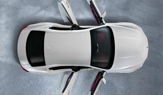 Die aerodynamische Formgebung sorgt für einen sparsamen Verbrauch