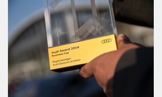 Foto der News Verleihung des Audi Award