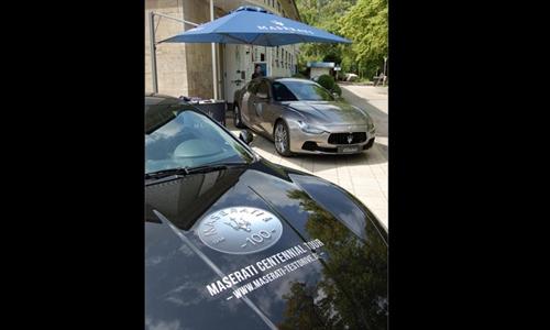 Foto der News Maserati Centennial Tour Hannover 2014