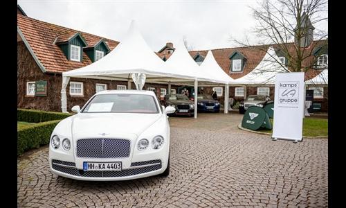 Foto der News Spring Welcome 2015 Bentley Hamburg