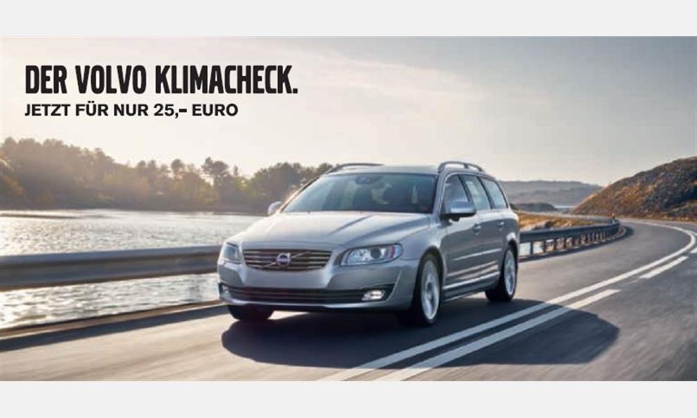 Der Volvo Klimacheck
