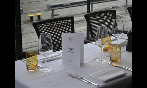 Foto der News Bentley Hamburg- White Dinner 28.05.2015