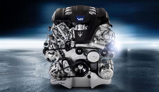 Vielseitiger 3-Liter-V6-Twin-Turbo-Motor.