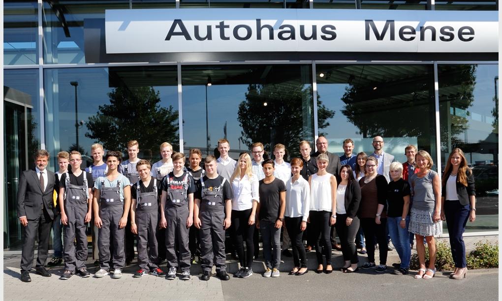 Azubirekord bei der Mense GmbH