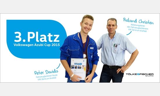 Foto der News Volkswagen Azubi Cup 2015