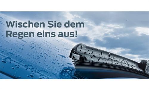 Foto des Zubehörangebots Wischen Sie dem Regen eins aus!