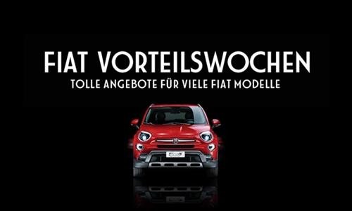 Foto der News FIAT Vorteilswochen: Tolle Angebote für viele Modelle