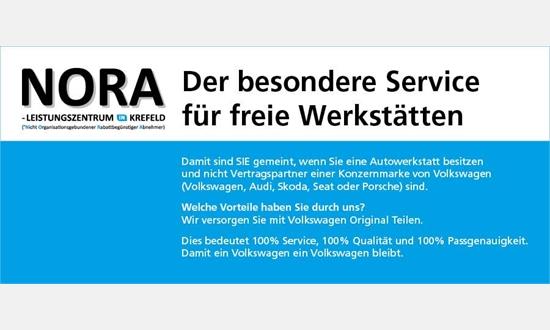 Foto des Serviceangebots NORA Broschüre