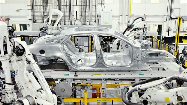 Aluminium-Leichtbau-Konstruktion