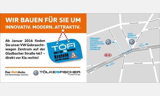 Foto der News Tölke + Fischer baut am Standort Gladbacher Straße 345 um