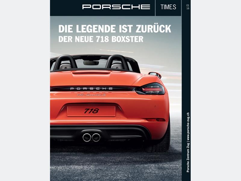 Porsche Times 01/2016