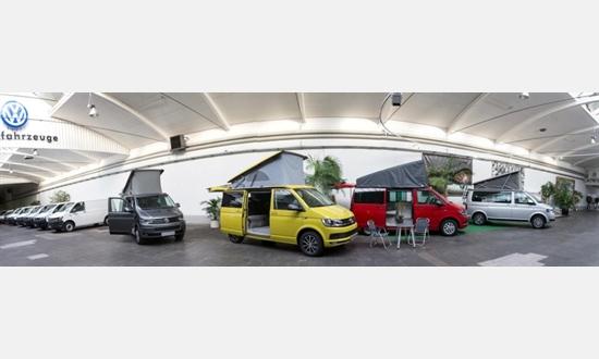 Foto der News Der VW California im VW Nutzfahrzeug Zentrum Krefeld