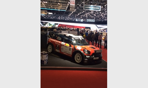 Foto der News Sponsoring HPS Technik Rally Team