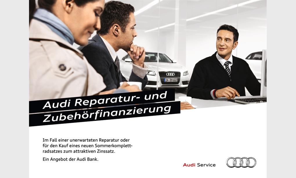 Audi Reparatur- und Zubehörfinanzierung