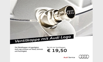 Foto des Zubehörangebots Ventilkappe mit Audi Logo