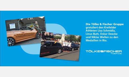 Foto der News Töfi gratuliert den Krefelder Medaillengewinnern