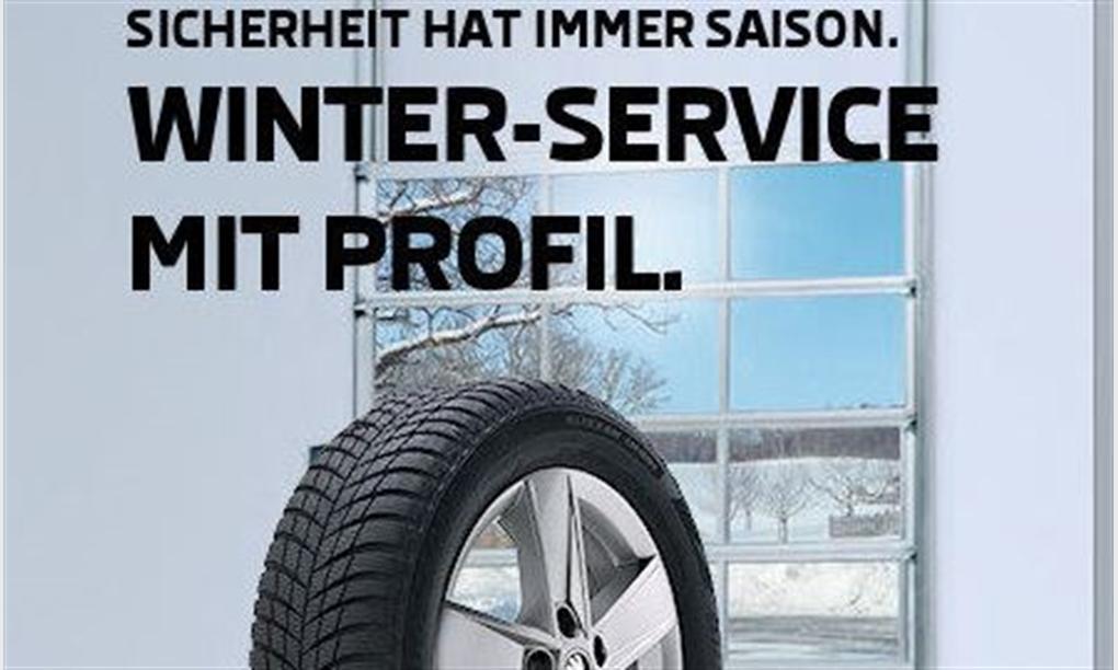 WINTER-SERVICE MIT PROFIL.