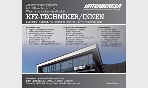 Foto des Stellenangebots KFZ Techniker/in Autowelt Kufstein